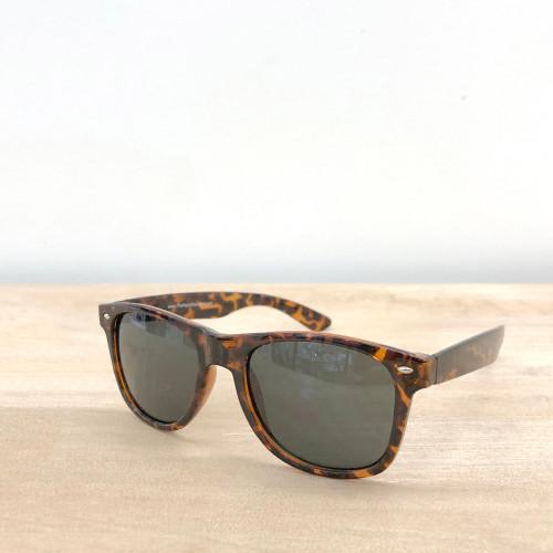 Newport Wayfarer Sunglasses - Tortoise