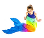 Mermaid Blankie Tail - Rainbow