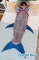 Shark Blankie Tail