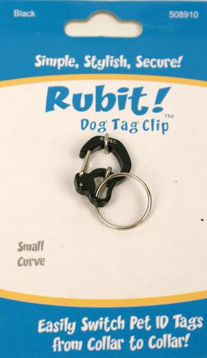 Small Curve Dog Tag Clip