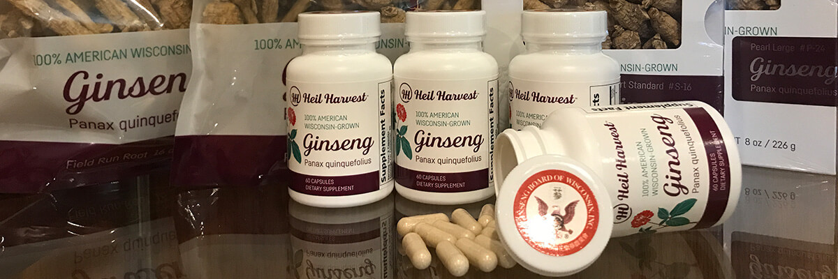 Fight Fatigue with 100% Pure American Ginseng Capsules