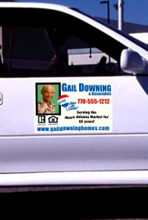 Full Color Magnetic Signs, Car Magnets