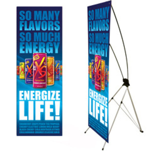X-style Banner Stands