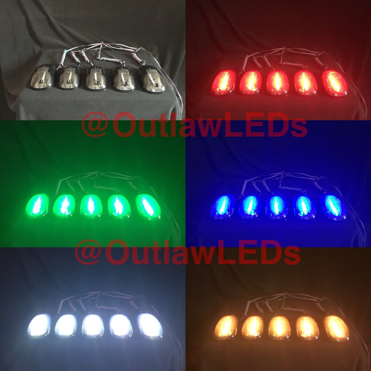 Color Changing Cab Lights - OutlawLEDs