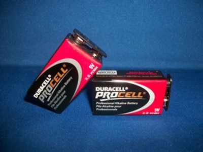 9 Volt Duracell Pro Cell Battery