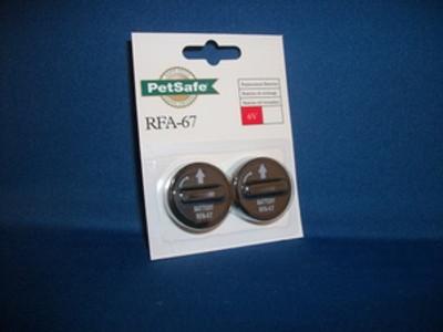 NoBark 6/18 Replacement Lithium Batteries
