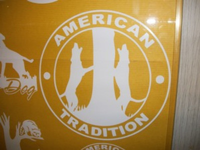 American Tradition Window Decal (Large)