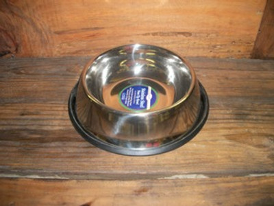 Non-Tip Stainless Steel 24oz. Bowl