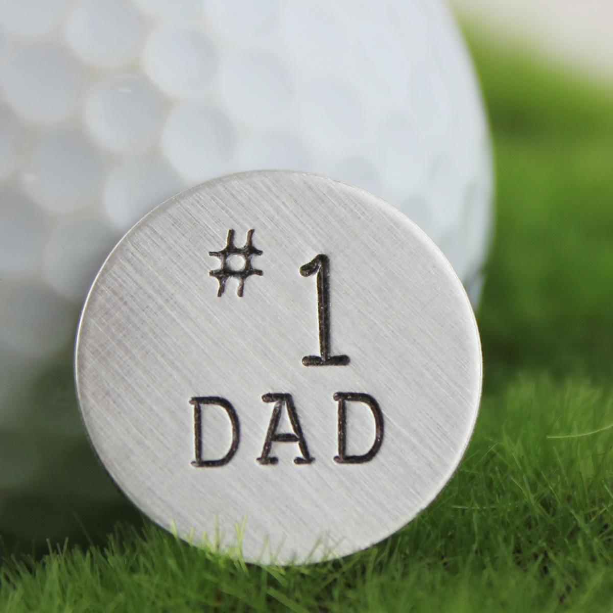 No. 1 Dad Golf Ball Marker
