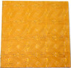 Bulk Discount - Medium Amber Cathedral Celtic Hand Cut, Stained Glass Mosaic Tiles