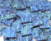 Blue & Bluegreen Van Gogh Stained Glass Mosaic Tiles