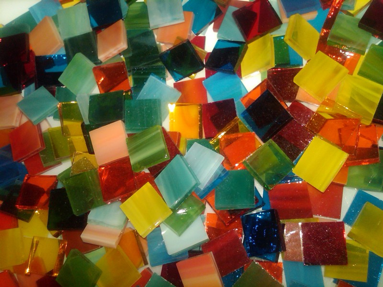 Mason's Tropical Mix Stained Glass Mosaic Tiles