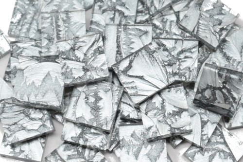 Bulk Discount - Silver Van Gogh Stained Glass Mosaic Tiles
