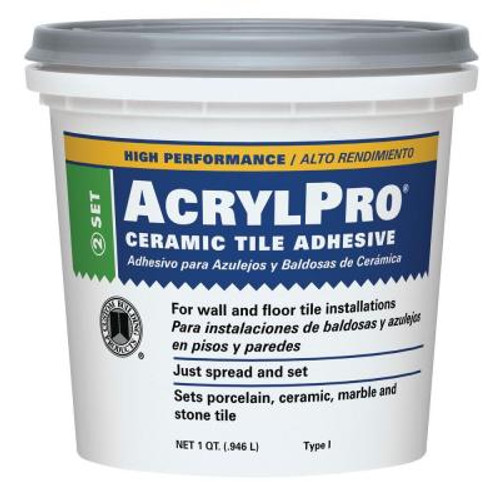 Ceramic Tile Adhesive, 1 qt.  (US Shipping Only)