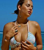 Hanapepe Braided Triangle Slider/Swoop Neck Bikini Top Customize Size & Choose from 50+ Fabrics