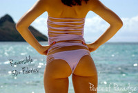 KAMAOLE Reversible Strappy Bikini Brazilian Bottoms Customize Size & Choose from 50+ Fabrics