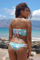 Jaws Reversible Cheeky Brazilian Bikini Bottom Customize Size & Choose from 50+ Fabrics