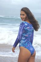 KAHAKULOA Surf Suit One Piece Bathing Suit Swimwear Customize Size & Choose from 50+ Fabrics