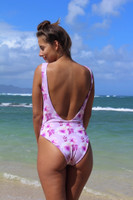 A SUNSET LACE-UP Reversible One Piece Customize Size & Choose from 50+ Fabrics