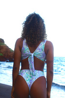A Kailua Reversible -Adjustable allows multiple Looks Bralet Bikini Top  Customize Size & Choose from 50+ Fabrics