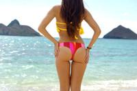 Lani Kai Style REVERSIBLE  Cheeky Brazilian Bikini Bottoms Custom Made in Hawaii Bikini Size & Choose from 50+ Fabrics
