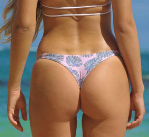 Banzai Reversible Brazilian Thong Bikini Bottoms Customize Size & Choose from 50+ Fabrics
