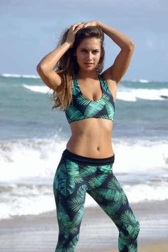 Oluwalu Surf Leggings Customize Size & Choose from 50+ Fabrics