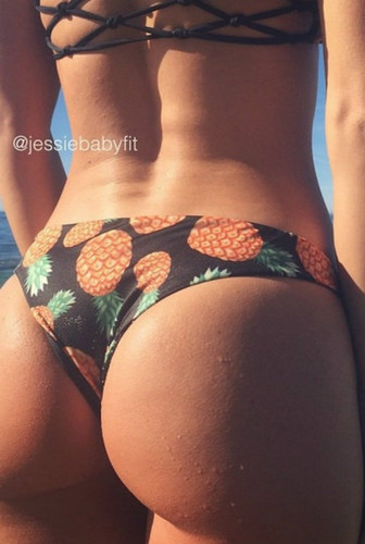 Lani Kai Style REVERSIBLE  Cheeky Brazilian Bikini Bottoms Custom Made in Hawaii Bikini Size & Choose from 50+ Fabrics