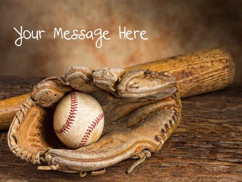 Vintage Baseball Gift box