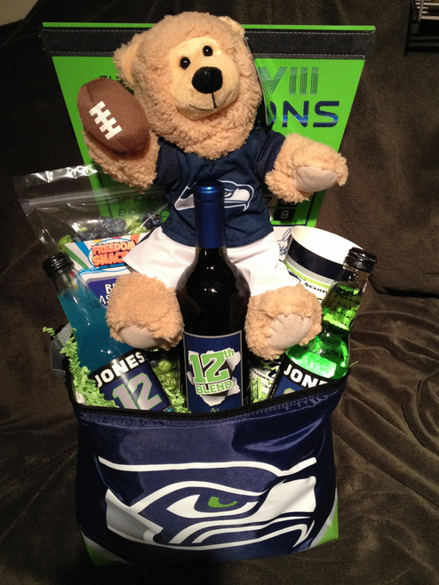 Seahawks Bear Cooler