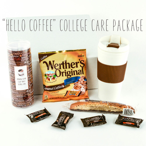 """Hello Coffee"" College Care Package"