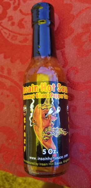 Insain Sauces Coconut Ghost Pepper Sauce