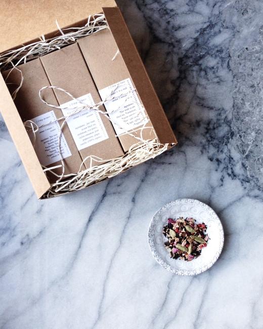 modern chai sampler