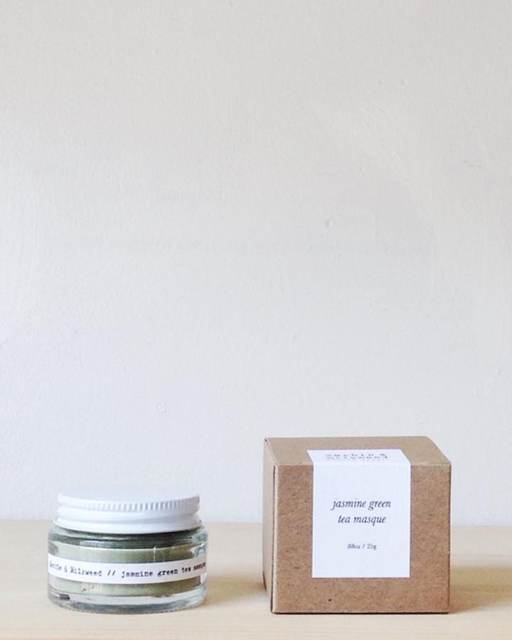 jasmine green tea masque