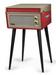 Crosley Bermuda Deluxe Turntable - Red