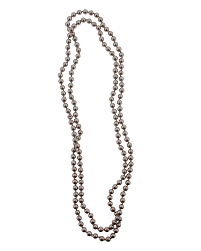 """60"""" BROWN PEARL NECKLACE"""