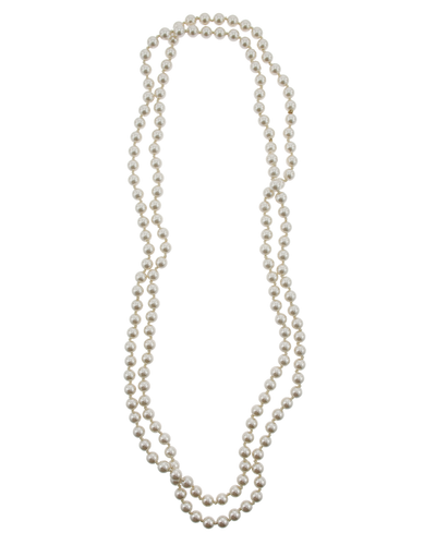 """60"""" IVORY PEARL NECKLACE"""
