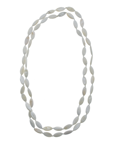 "46"" MOTHER OF PEARL NECKLACE"