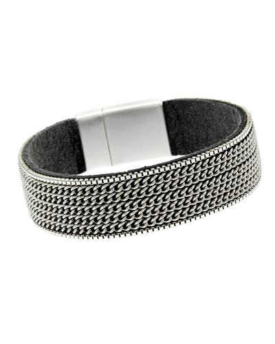CHAIN- THIN MAGNETIC BRACELET - SILVER