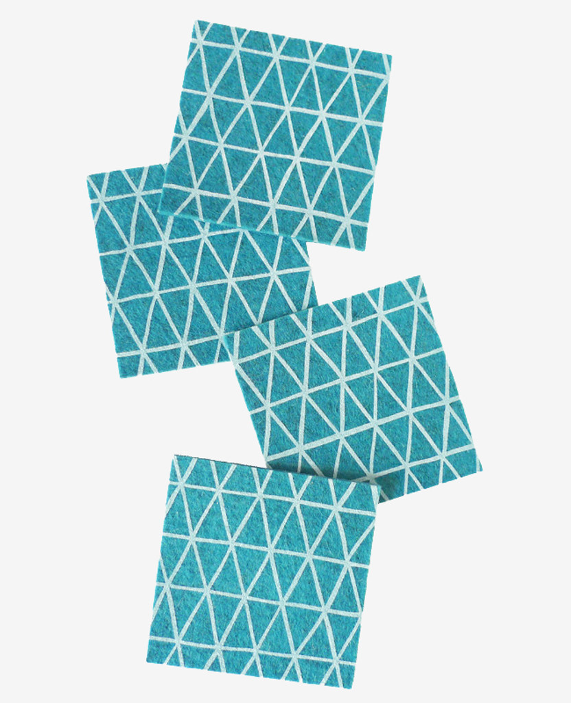 Lagune Triangle Coasters