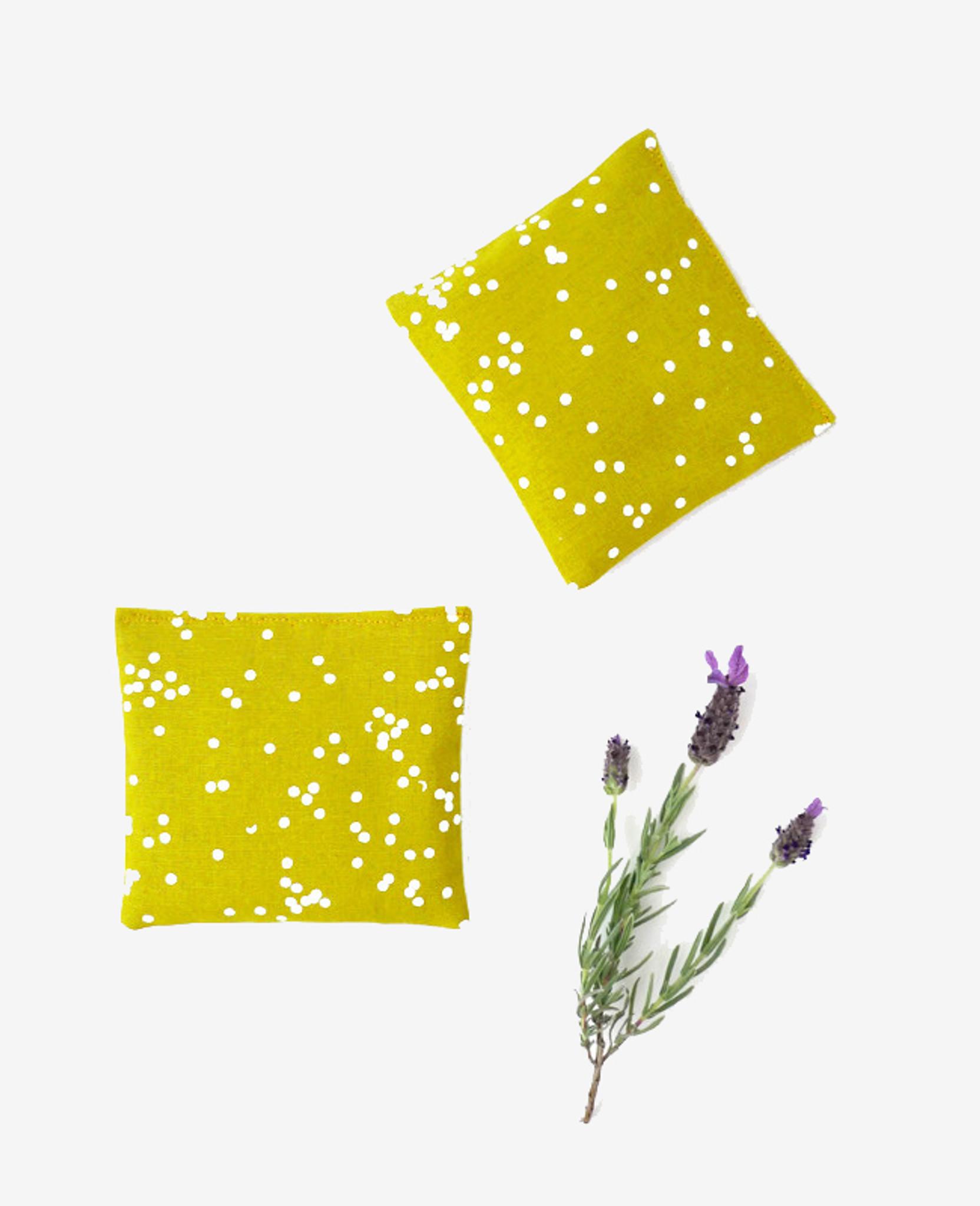 Gold Confetti Lavender Sachet
