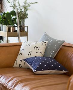 Hills + Valleys Linen Pillow