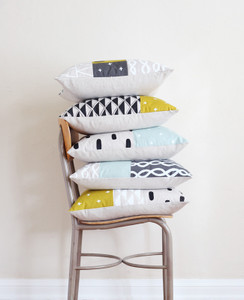 Day + Night Patchwork Pillow