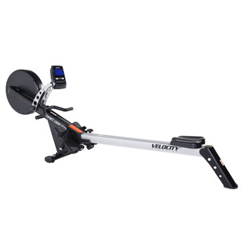 Velocity Exercise Motion Series Rower, angled view