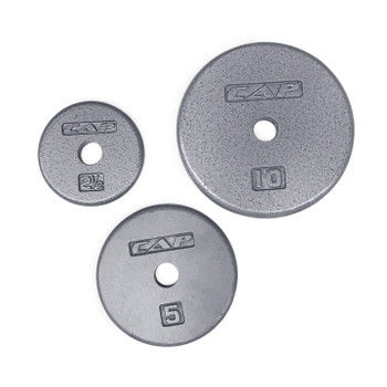 CAP Hi-Grade Regular 1 inch Machined Grey Plate