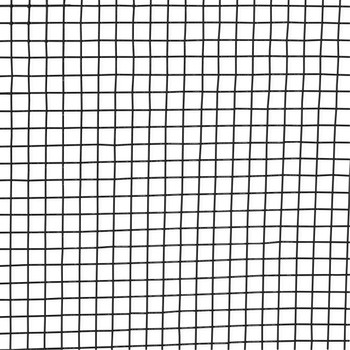 16 Gauge Black Vinyl Coated Welded Wire Mesh Size 0.5 inch by 0.5 inch