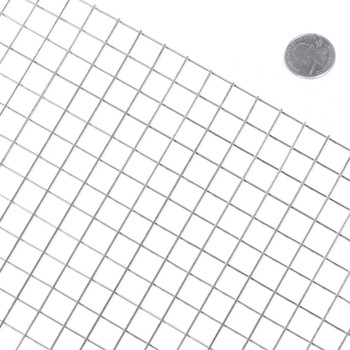"""Fencer Wire 16 Gauge Stainless Steel Welded Wire with Mesh Size 0.5"""" x 0.5"""""""