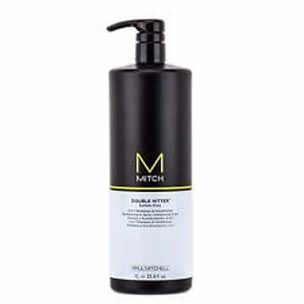 Mitch Double Hitter 2-in-1 Shampoo & Conditioner 33.8oz