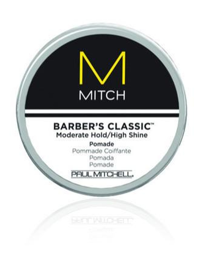 Mitch Barber's Classic Moderate Hold/High Shine Pomade 3oz