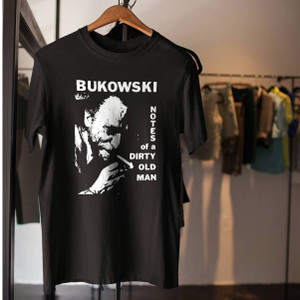 charles bukowski t shirt diary of a dirty old man